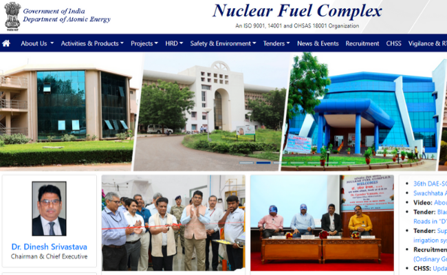Nuclear Fuel Complex address